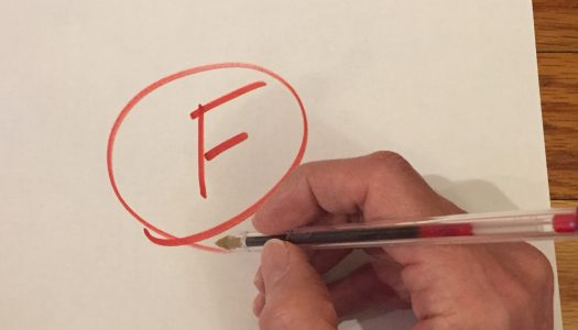 F Is for Failure